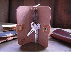 手作り革製品キーケース