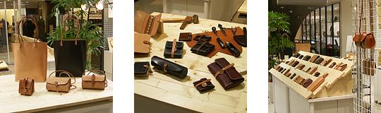 手作り革製品PAPA-KINGこれまでの活動「三越広島店2007年6月」