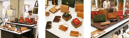 手作り革製品PAPA-KINGこれまでの活動「三越広島店2008年6月」