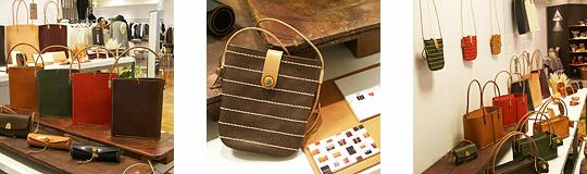 手作り革製品PAPA-KINGこれまでの活動「三越恵比寿店2008年10月」