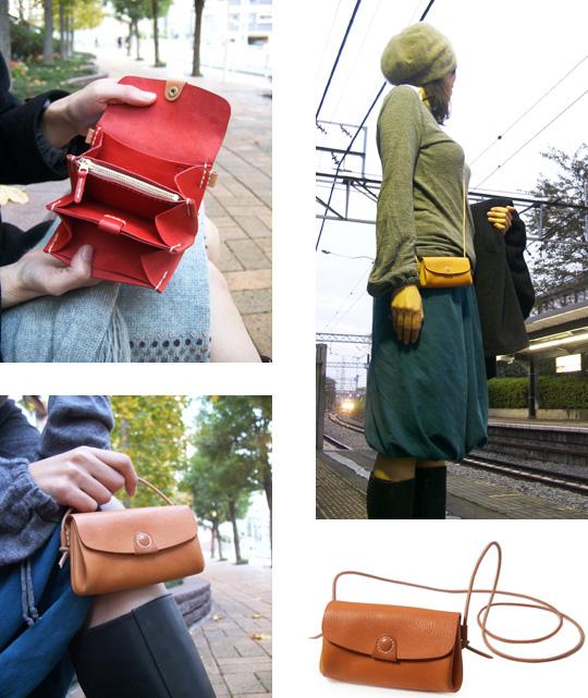 手作り革製品ウォレット(財布)画像